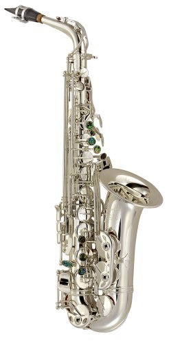 P. Mauriat PMXA-67RS Alto Sax, Silver Plate, Rolled Tone Hole with Case