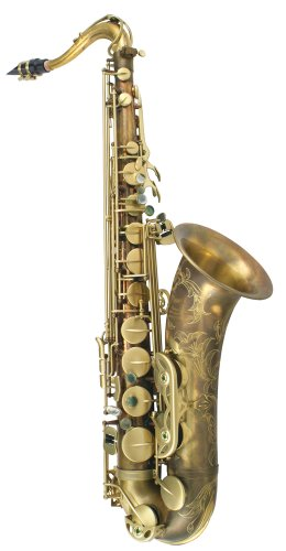 P. Mauriat PMXT-66RUL Tenor Sax, Unlacquered, Rolled Tone Hole with Case