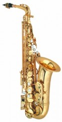 P. Mauriat PMXA-67RGP Alto Sax, Gold Plate, Rolled Tone Hole with Case