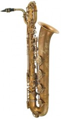 P. Mauriat PMB-300UL Baritone Sax, Unlacquered with Case, LOW A
