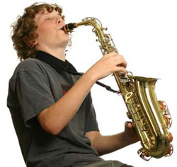 Playing-Saxophone