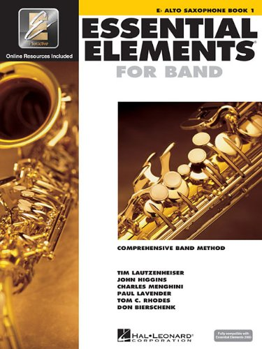 Essential Elements 2000: Eb Alto Saxophone, Bk. 1